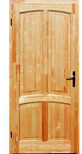 Tömörfa beltéri ajtó